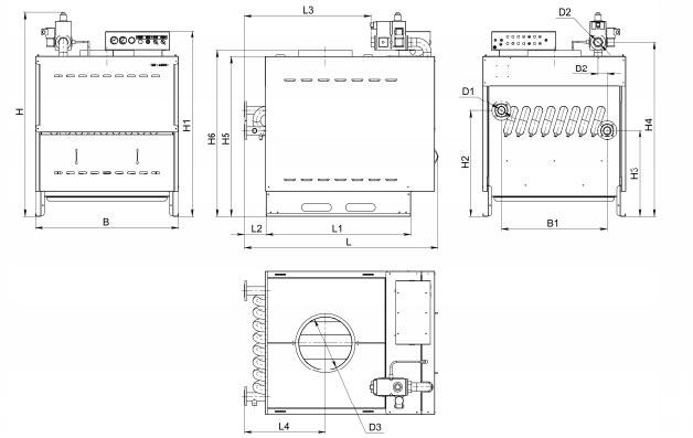 инструкция на котел Rs A300 - фото 8